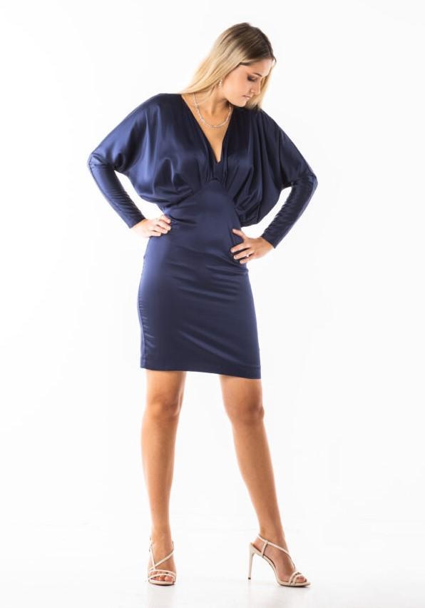 CLOE satynowa mini sukienka