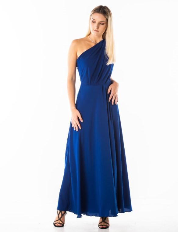 GIULIA suknia maxi na jedno ramię