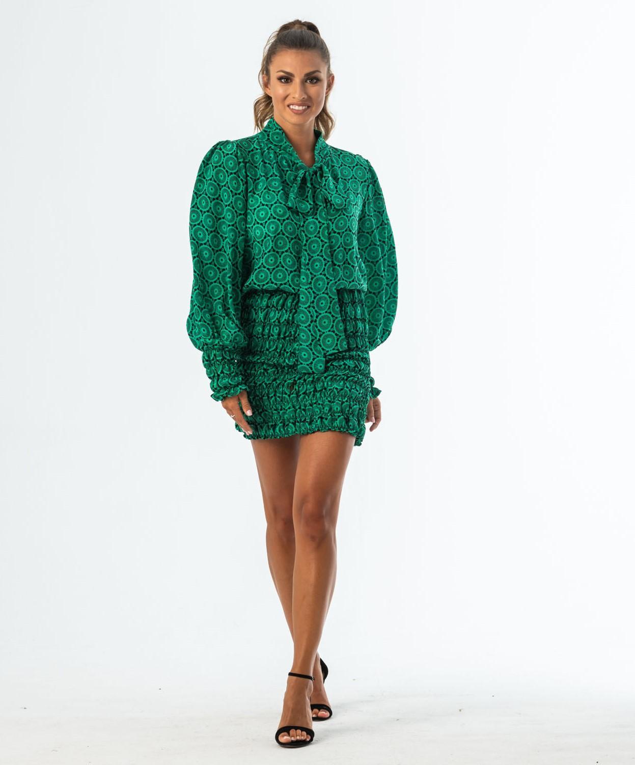 DOLL jedwabna sukienka mini